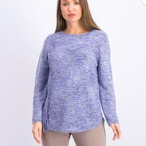 New Nic+Zoe Round Neckline Pullover Sweater